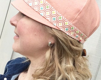 Spring and Summer Women's Hat by Bound to be Creative - Spring Cloche Hat - Women's Hat - Summer Women's Hat - Cloche Hat for Women