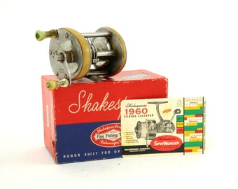 Shakespeare President Fishing Reel Level Winding Reel 1970A w/Box
