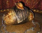Taxidermy Armadillo Handbag Purse Exquisite Rare Obscure