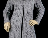 Knitted Cable Cardigan/Jacket for Women