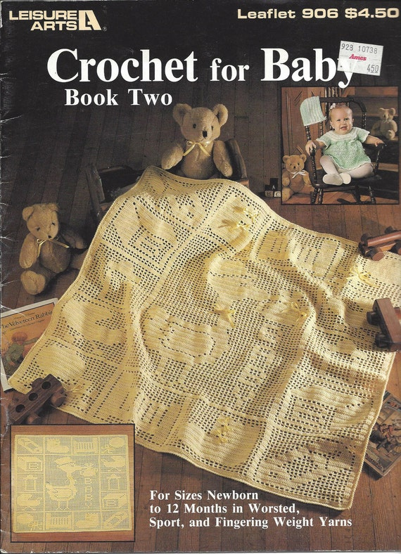Crochet For Baby Book Two Leisure Arts 906 Crochet