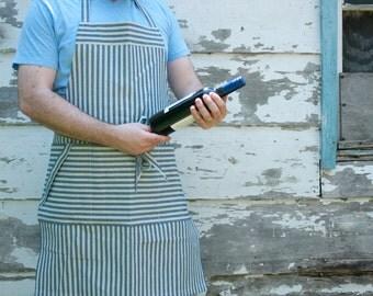Canvas apron, Mens apron, Chef's apron