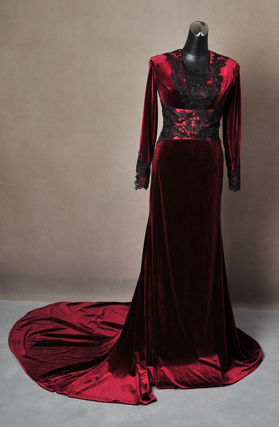 Once Upon A Time Regina Evil Queen Inspired Red by ...