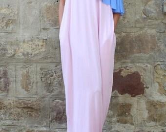 Pink backless dress, Maxi Dress, Caftan, Party Dress, Prom dress, Caftan Dress, Abaya, Kaftan, Oversized dress, Elegant  Dress