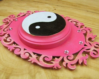 Yin Yang Altar Tile or Plaque for your Sacred Space or Metaphysical Lifestyle