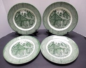 Royal China The Old Curiosity Shop - Set of 4 Dinner Plates (4 sets available)