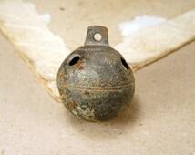 Antique Big Brass Jingle Bell