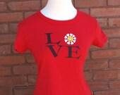 SALE Love Smile Daisy Soft 90s T-Shirt