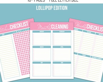 40% Off - Cleaning Kit - Lollipop Edition - FULL SIZE