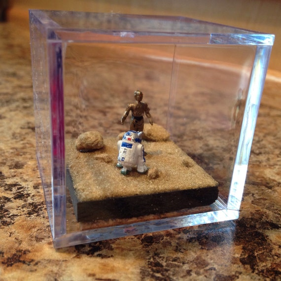 R2d2 And C3po Desert R2D2 and C3PO i...