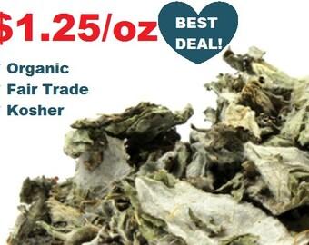 Organic ARTICHOKE LEAF - 1oz- Cynara scolymus ounce kosher fair trade non-GMO