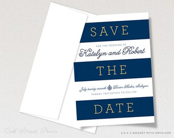 Beach Wedding Save the Date Magnet