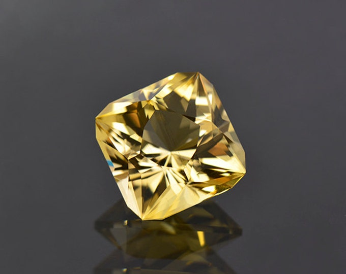 Brilliant Custom Cut Tanzanian Yellow Scapolite Gemstone 7.00 cts.