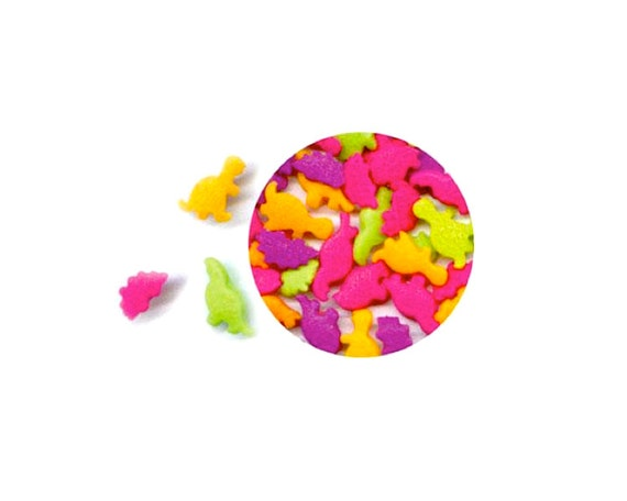 2.6 oz. Edible Dinosaur Confetti Sprinkles - Cake Decorating Baking Party Supplies