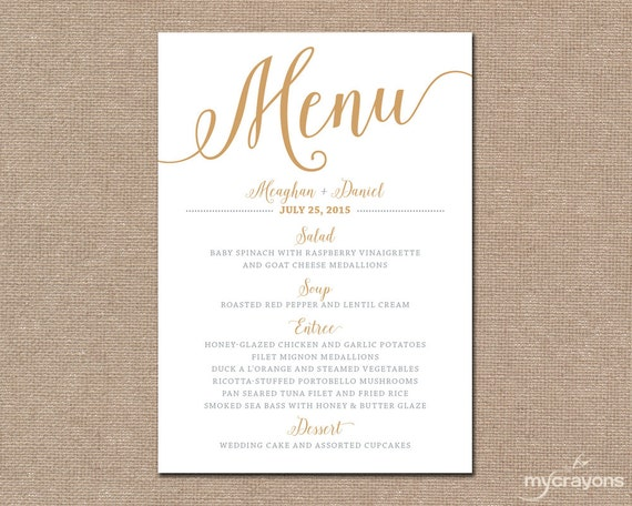 Geeky image intended for printable menu cards