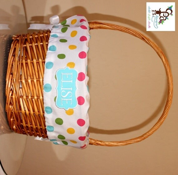 Easter Basket Liners For Boys And Girls Personalized Basket