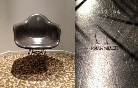 Eames Elephant Gray Rare All Vintage Original Herman Miller