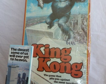 King Kong 1976 Twin Towers Ideal Board Game Unopened