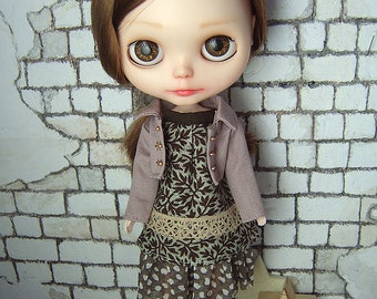 OOAK outfit for Blythe dolls