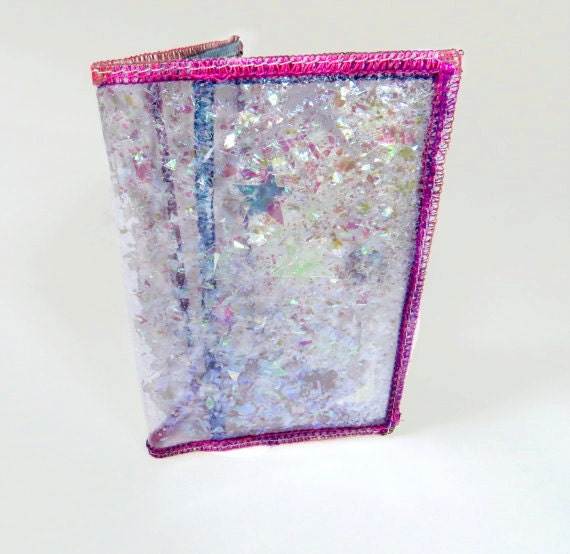 Iridescent wallet credit card case business card holder for Iridescent business cards