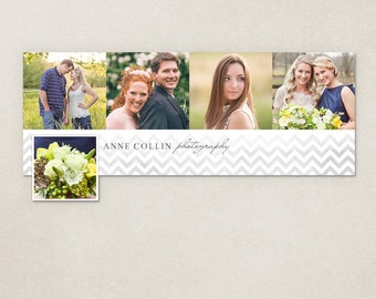 50% SALE Facebook Timeline Cover Chevron - Customizable photoshop template INSTANT DOWNLOAD FC048