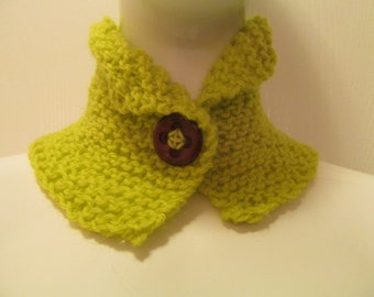 Chartreuse Cowl/Collar
