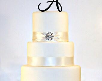 """4.5"""" Monogram Cake topper"""