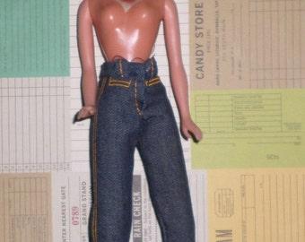 Mego JORDACHE Designer Jeans Blonde Barbie Size Doll Fun & Fashionable