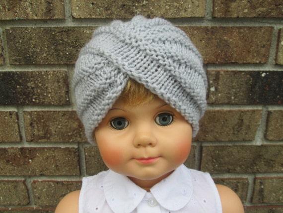 Knitting Hat For Toddler : Items similar to toddler hat knit baby boy turban crochet
