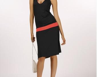 Dress Hoody black/red