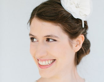 "Wedding Headpiece Silk Flower Headband- ""Lilien"""