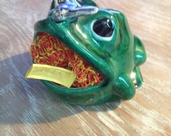The ORIGINAL Tuffy Kitchen Sink Frog