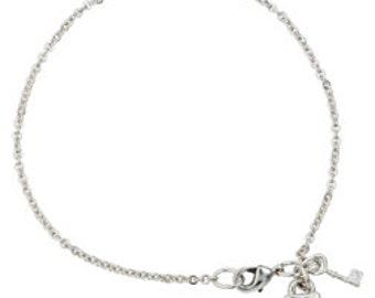 Heart Bracelet - Lock & Key
