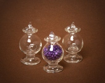 Miniature Glass Bowl for Your Dollhouse