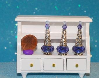 miniature bottle genie fairy potion magic PURPLE