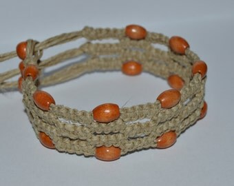 All Natural Hemp Cuff