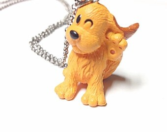Dog necklace, animal necklace, toy necklace