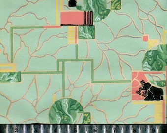 Vintage Wallpaper - Retro - By the Yard