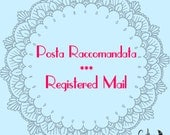 Registered mail-Traceable Registered Mail with track number