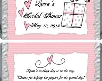 20 Bridal Shower Hershey Bar Favor