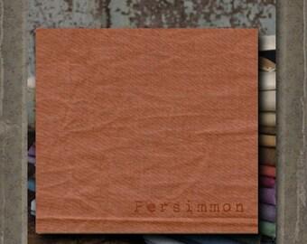 Fabric 1 YARD: Aged Muslin Cloth (New) - PERSIMMON 129 Marcus Fabrics