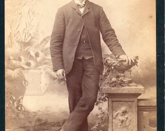 Antique Photo of Dashing Gent