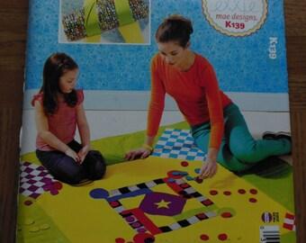 Grab and Go Game Blanket Pattern,ellie mae designs from Kwik Sew