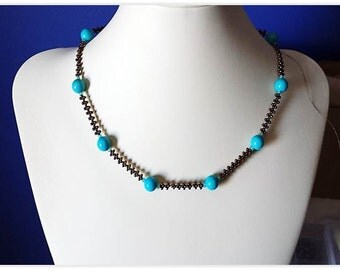"""Beading Tutorial PDF The necklace """"Easy Does It"""""""