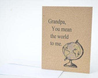 Father's Day Card - Grandpa Father's Day Card