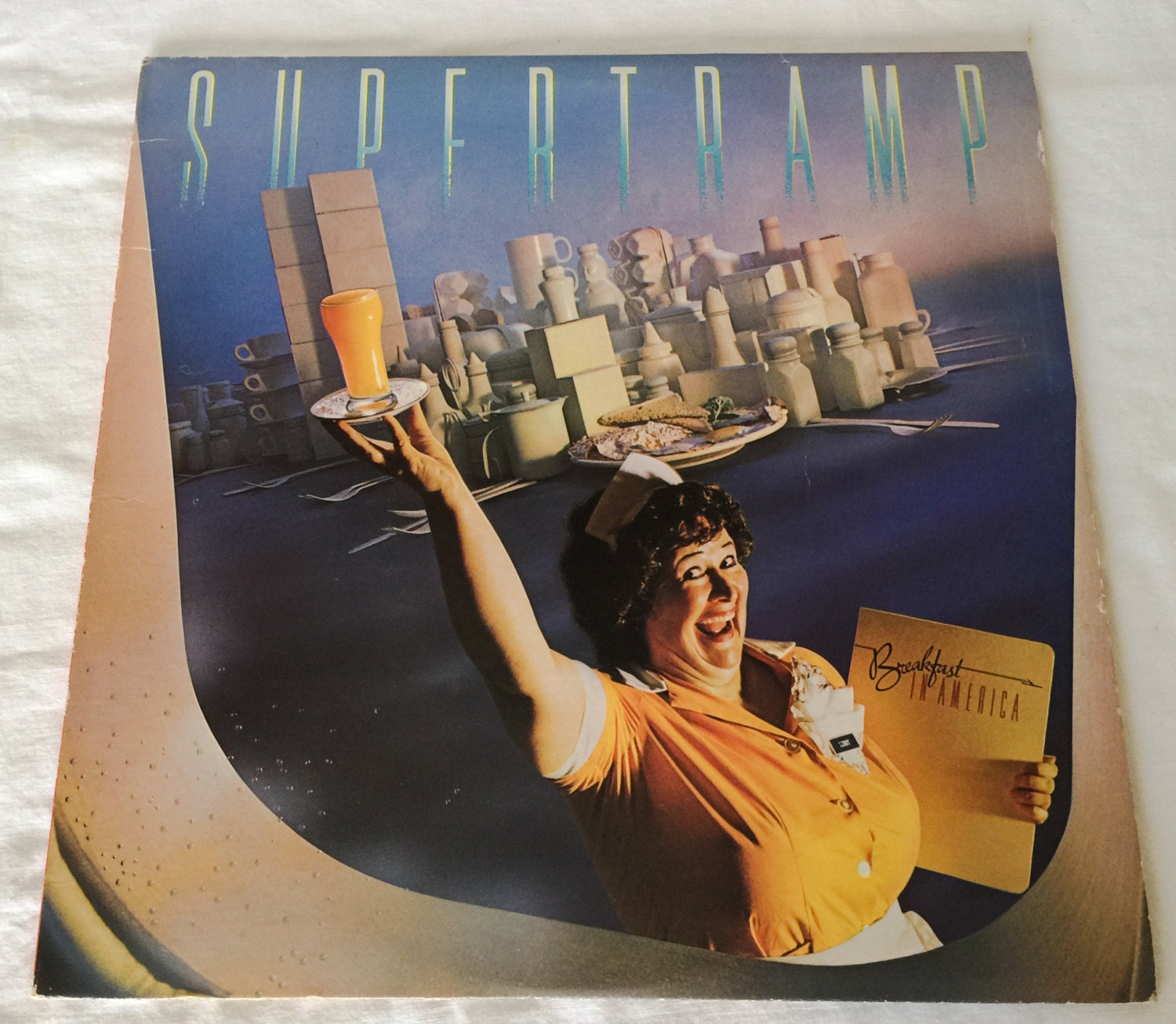 Supertramp Breakfast In America Sp3708 A Amp M Records Clean