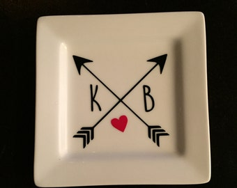 Personalized Ring Dish - Ring Holder