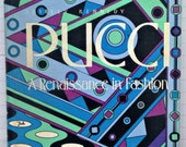 Stunning vintage Pucci fashion book: Pucci A Renaissance in Fashion by Shirley Kennedy