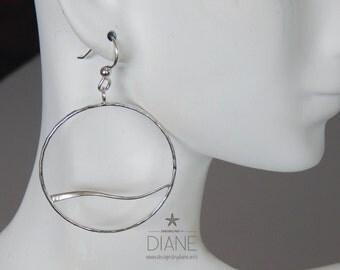 maui wave hoop earrings
