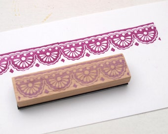 Stamp I lace No1